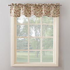 Top of the Window Kobi Floral Paisley Kitchen Valance