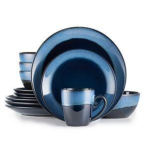 Food Network Canyon Ridge 16 Pc Dinnerware Set Kohls