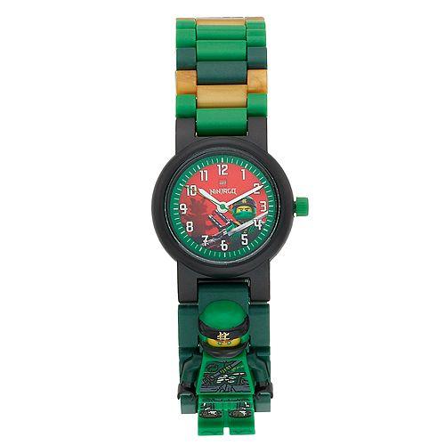 Kids' LEGO Ninjago Lloyd Minifigure Interchangeable Link Watch Set