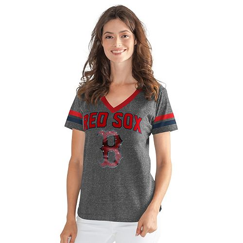 Womens G-III Sports Boston Red Sox Walk Off Tee