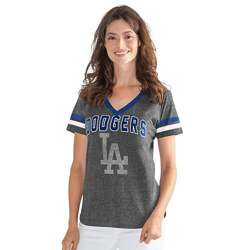 Womens G-III Sports Los Angeles Dodgers Walk Off Tee