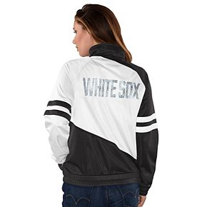 Womens G-III Sports Chicago White Sox Perfect Pitch Track Jacket