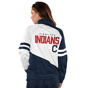 Womens G-III Sports Cleveland Indians Perfect Pitch Track Jacket