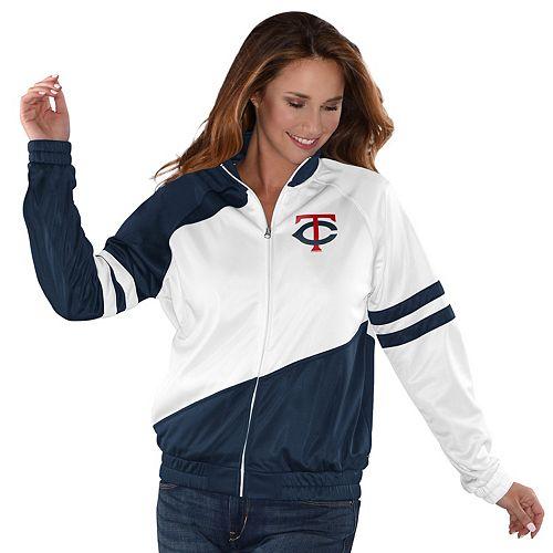 Womens G-III Sports Minnesota Twins Perfect Pitch Track Jacket