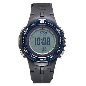 Casio Men's PRO TREK Triple Sensor Tough Solar Atomic Watch - PRW3100Y-1