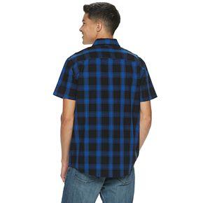 Men's Urban Pipeline? Plaid Poplin Button-Down Shirt