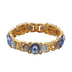 Dana Buchman Stretch Multi-stone Bracelet