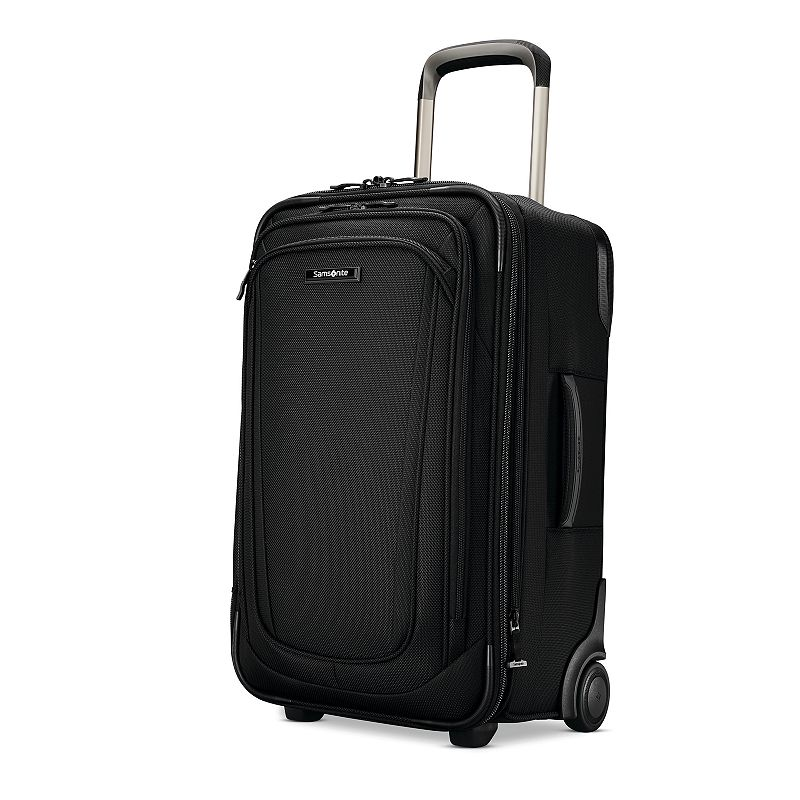 Samsonite Silhouette Wheeled Carry-On Luggage, Black, 19 CARRYON