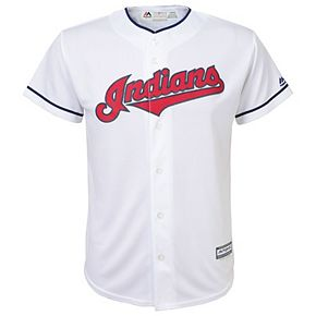 Boys 8-20  Cleveland Indians Replica Jersey