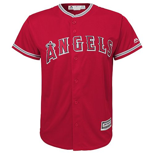 Boys 8-20  Los Angeles Angels of Anaheim Replica Jersey