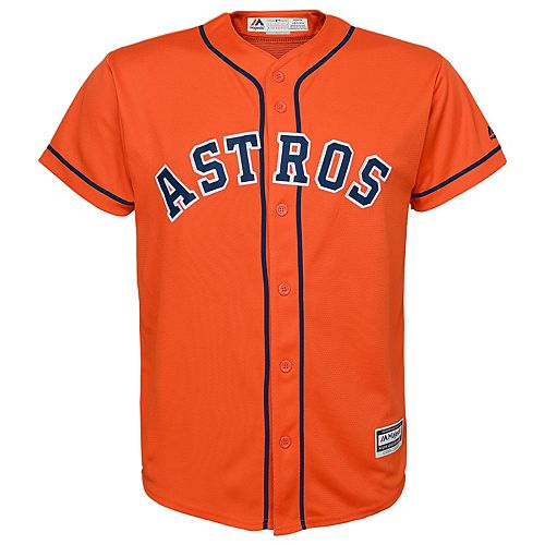 Boys 8-20  Houston Astros Replica Jersey