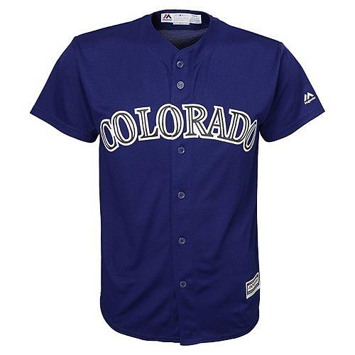 Boys 8-20  Colorado Rockies Replica Jersey