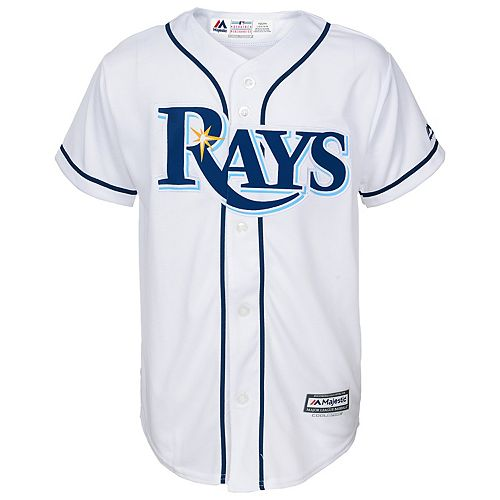 Boys 8-20  Tampa Bay Rays Replica Jersey