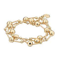 Dana Buchman Multi Row Stretch Bracelet