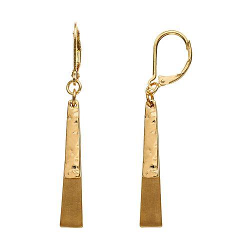 Dana Buchman DBL Linear Earrings