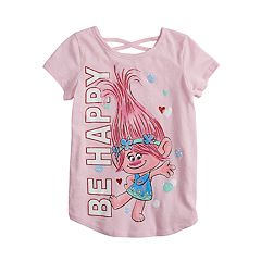 Girls 4-12 Jumping Beans® Dreamworks Trolls 'Be Happy' Graphic Tee