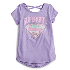 Girls 4-12 Jumping Beans® Supergirl Glittery Graphic Tee