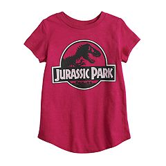 Girls 4-12 Jumping Beans® Jurassic Park Glittery Graphic Tee