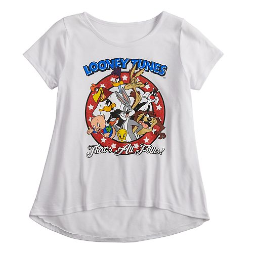 Girls 7-16 & Plus Size Looney Tunes Graphic Tee