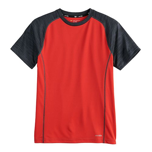 Boys 8-20 Tek Gear® DryTek Raglan Tee in Regular & Husky