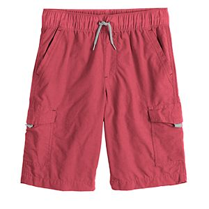 Boys 8-20 Urban Pipeline Pull-On Cargo Jogger Shorts in Regular & Husky