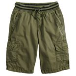 Boys 8-20 Urban Pipeline? Knit-Waistband Pull-On Cargo Shorts In Husky & Regular