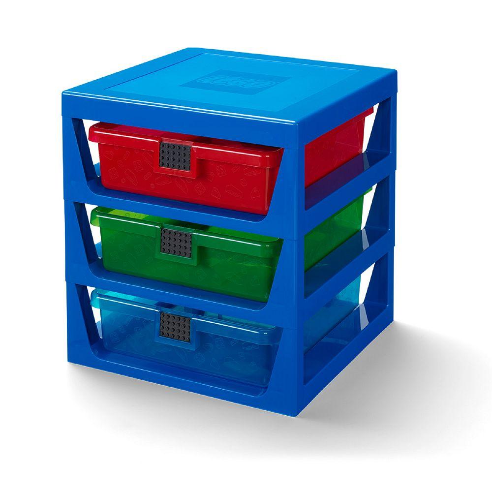 LEGO Rack System-Bright Blue