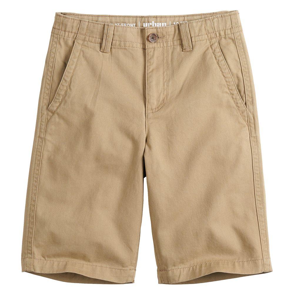 Boys 8-20 Urban Pipeline™ Flat-Front Shorts In Regular & Husky