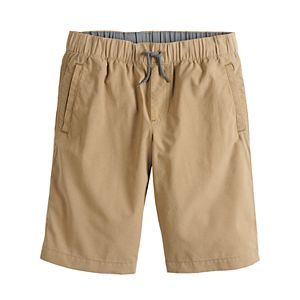 Boys 8-20 Urban Pipeline Pull-On Flat Front Jogger Shorts in Regular & Husky