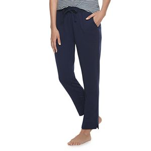 Women's Sonoma Goods For Life® Slim Leg Essential Pajama Pants