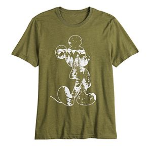 ?Disney's ?Mickey Mouse Men's Parks Graphic Tee by Family Fun