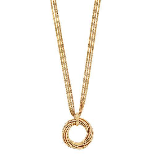 Women's Dana Buchman Knot Pendant Necklace