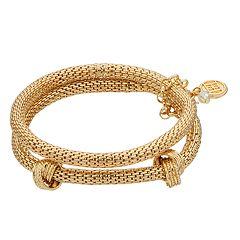 Women's Dana Buchman Bracelet Set of 3 Stretch Knot