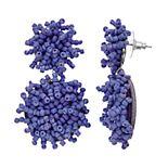 Women's Beaded Cluster Drop Earrings