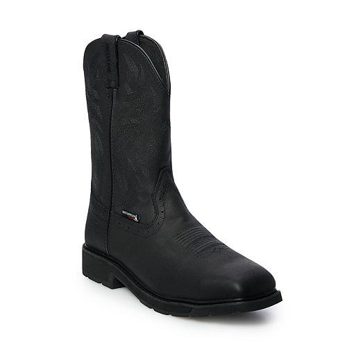 Wolverine Rancher Men's Waterproof Steel Toe Wellington Work Boots