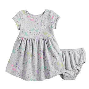 Baby Jumping Beans® Print Skater Dress