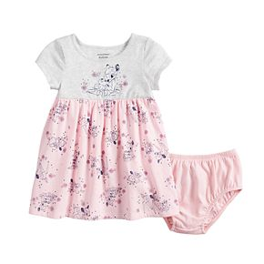 Disney's Bambi Baby Girl Print Babydoll Dress by Jumping Beans®