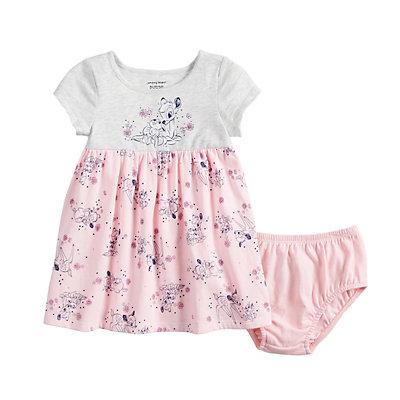 Disney's Bambi Baby Girl Print Babydoll Dress by Jumping Beans®