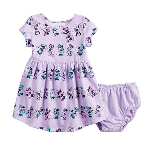 Disney's Minnie Mouse Baby Girl Printed Skater Dress by Jumping Beans®