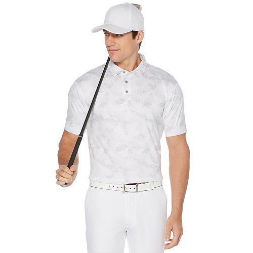 Men's Grand Slam On Course Tropical Print Golf Polos