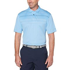 Men's Grand Slam Driflow Classic-Fit Oxford Performance Golf Polo