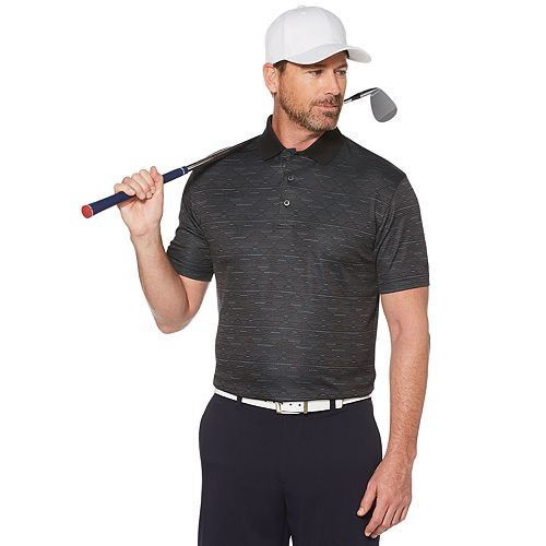 Men's Grand Slam On Course Classic-Fit Argyle Jacquard Performance Golf Polo