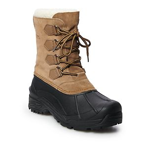 totes Prince Men's Waterproof Winter Boots