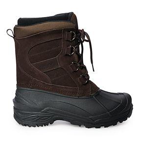 totes Rock Men's Waterproof Winter Boots