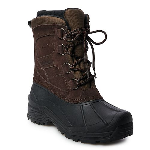totes Rock Men's Waterproof Winter Boots