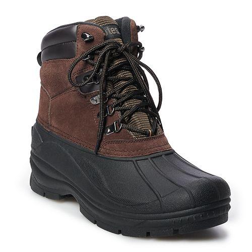 totes Sydney Men's Waterproof Winter Boots