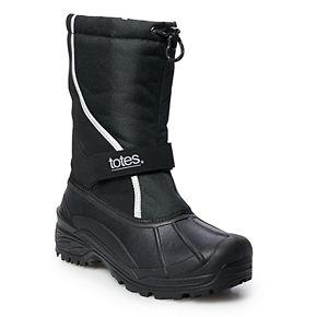 totes Will Men's Waterproof Winter Boots