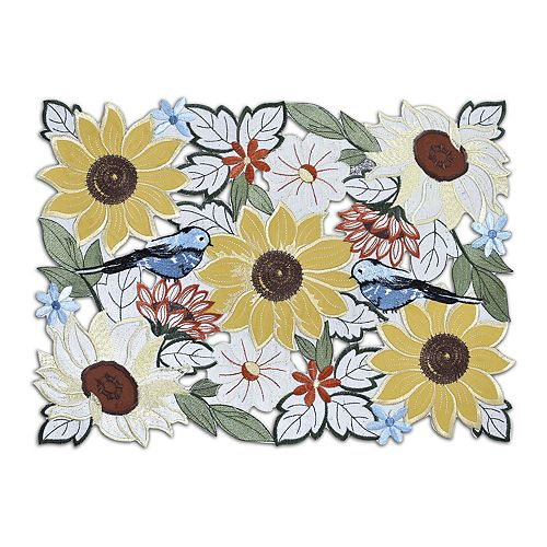 Celebrate Fall Together Sunflower Placemat