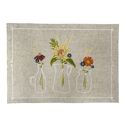 Celebrate Fall Together Flower Vase Placemat