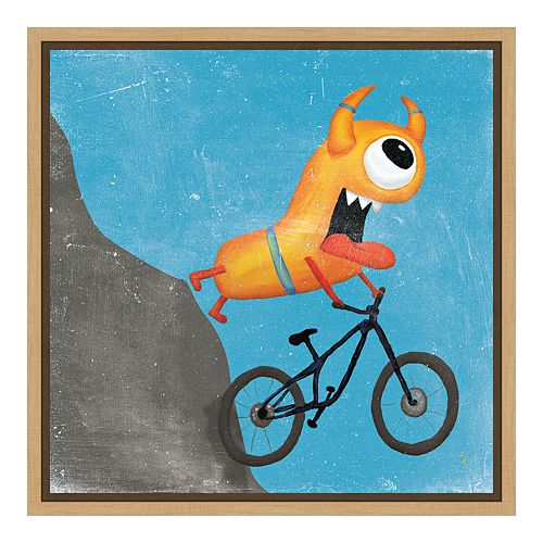 Amanti Art Xtreme Monsters I Canvas Framed Wall Art